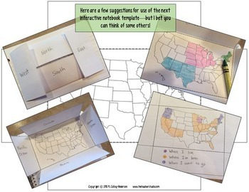 Maps and Globes Interactive Unit for Grades 3-5