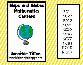 Maps and Globes Mathematics Centers - Common Core