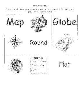 Maps and Globes Packet