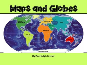 maps and globes power point in pdf by kennedy s korner tpt