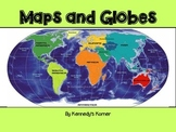Maps and Globes Power Point in pdf