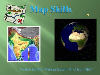 Maps and Globes Vocabulary Unit