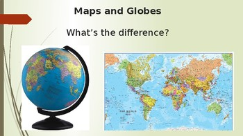 maps and globes powerpoint by lucy taylor teachers pay teachers