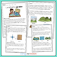 Maps and Landforms Task cards | Maps and Landforms Reading Passage | NGSS