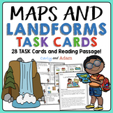Maps and Landforms Task Cards