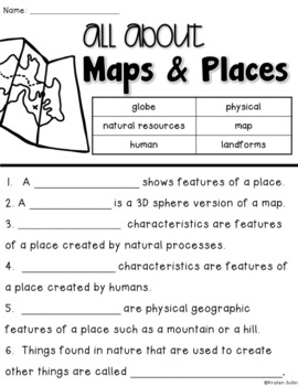 Maps and Places