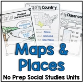 Understanding Maps and Characteristics of Places