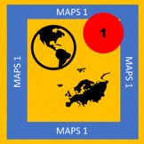 Maps 1. Content based Spanish speaking world - All levels