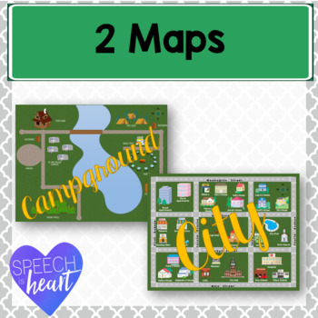 Maps for Following Directions
