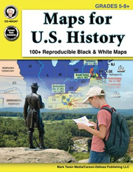 Maps for U.S. History Grades 5-8 SALE 20% OFF 404247