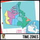 Maps of Canada Clipart: Climate, Physical, Time Zones, & Vegetation Regions