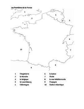 Maps of France packet
