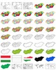 Maps of Hungary Clipart