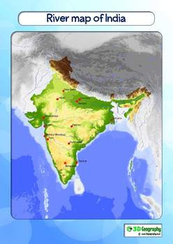 Maps of India for use in schools