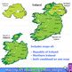 Ireland: Maps of Ireland Clipart