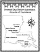 Maps of Native American Tribes in Louisiana