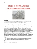 Maps of North America Exploration and Settlement: An Activity