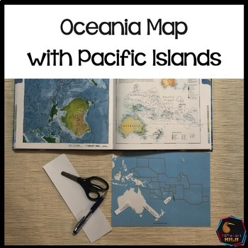 Maps of Oceania / Pacific Islands