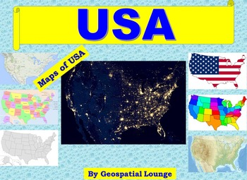 Maps of the USA: Clip Art USA Maps