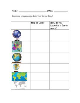 Maps vs. Globes