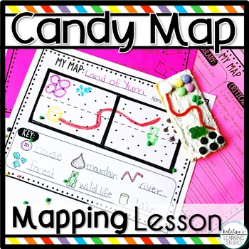 Make a Candy Map Lesson Plan for Beginning Mapping Skills