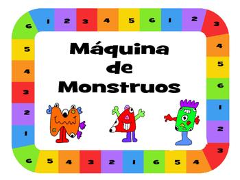 Máquina de Monstruos– Monster Drawing Game – The Body Vocabulary Spanish