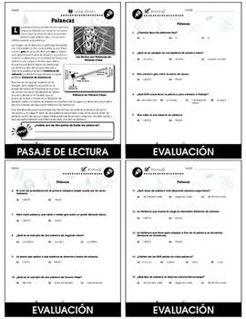 Máquinas Simples: Palancas Gr. 5-8