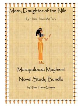 Mara, Daughter of the Nile Marapalooza Mayhem! Novel Study Bundle!