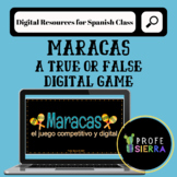 Maracas: Digital True or False Review Game Template