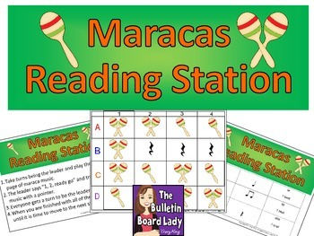 Maracas Rhythm Reading Workstation
