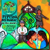 Marae & Pepeha Clip Art