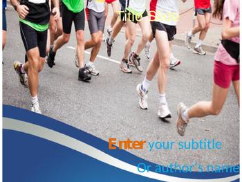 Marathon PPT Template