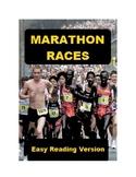 Marathon Races - Easy Reading Version