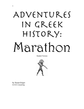 Marathon, The Story, with exercises