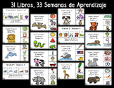 Spanish Mini Books:  DISCOUNTED - Year Long BUNDLE  of Wee