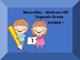 Maravillas McGraw-Hill ~ 2nd grade ~ Unit 1 ~ supplemental resources in Spanish
