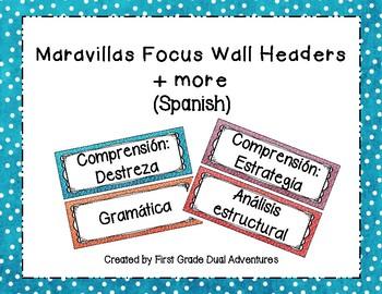 Maravillas Spanish Focus Wall Headers 2