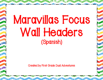 Maravillas Spanish Focus Wall Headers