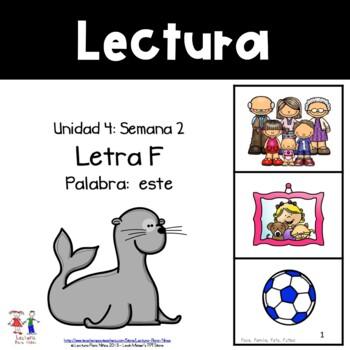 Unidad 4, Semana 2: LETRA F