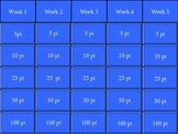 Marazano's ELA Academic Vocabulary for 4th grade Review Game