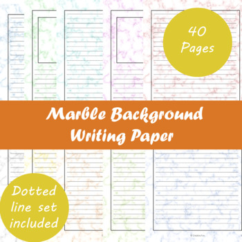 Marble Background Writing Paper