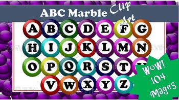 ABC Marbles Clip Art