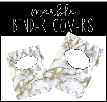 Marble Binder Covers 3