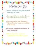 Marble Checklist