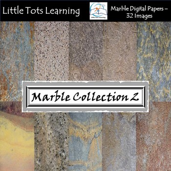 Marble Digital Papers 2 - Marble Backgrounds - Commercial Use