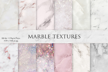 Marble & Glitters Textures