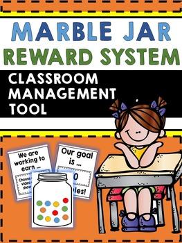 Marble Jar Reward System - Classroom Management Tool - Fill up the Jar!