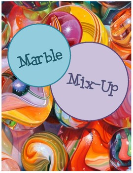 Marble Mix-Up: Making Simple Sentences