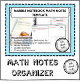 Marble Notebook Note-Taking Guides