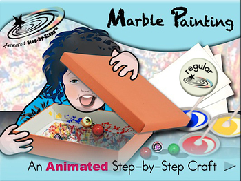 Marble Painting - Animated Step-by-Step Craft